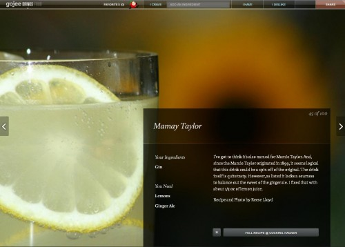 Gojee Drinks - Mamay Taylor