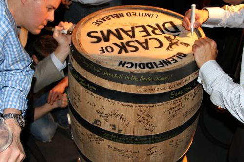 Cask of Dreams - Signed Cask